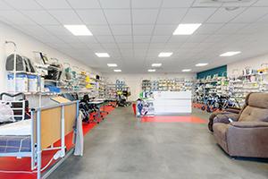 magasin accueil vente et conseil location bastide le confort médical cherbourg