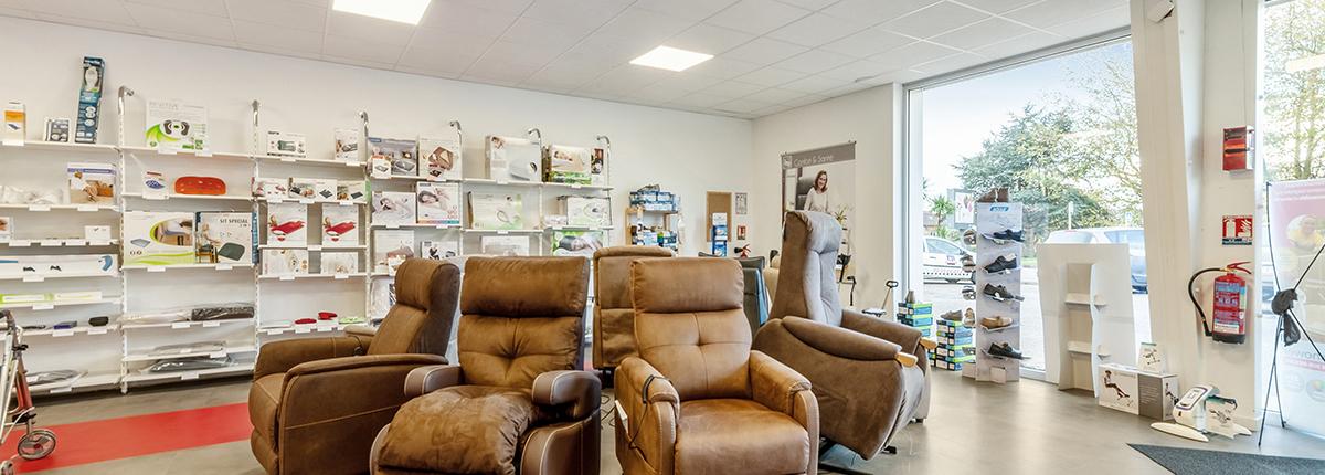 fauteuil releveur gamme confort et santé bastide le confort médical cherbourg